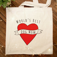 World's Best Dog Mom Tote