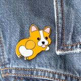 Cute Corgi Hard Enamel Pin