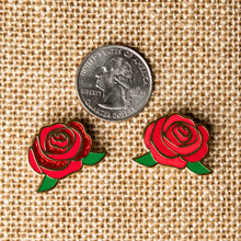 Load image into Gallery viewer, Rose Hard Enamel Pin