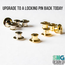 Load image into Gallery viewer, Brown Pitbull Hard Enamel Pin, Rescue Pittie Dog Lapel Pin