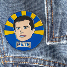 Load image into Gallery viewer, Pete Buttigieg Enamel Pin