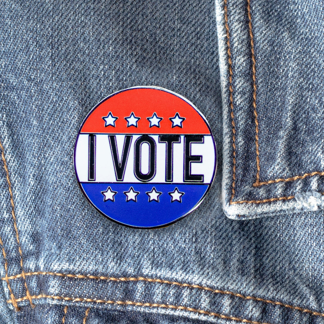 I Vote! Hard Enamel Pin
