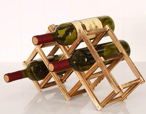 Collapsible Wooden Wine Racks