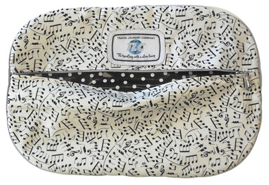 SB - Jazz Notes Shoe Bag