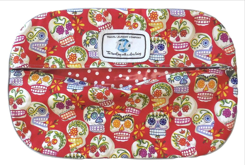 SBSL - AH Mini Sugar Skulls (Red) Shoe Bag