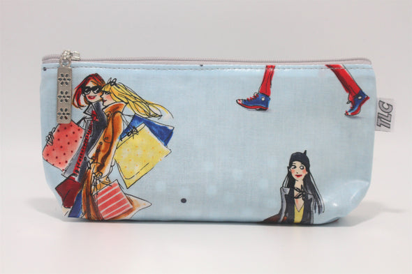 CIGSL- BFF's Double Slicker Cigar/Cosmetics Bag
