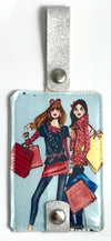 Luggage Tag Duo - BFF's