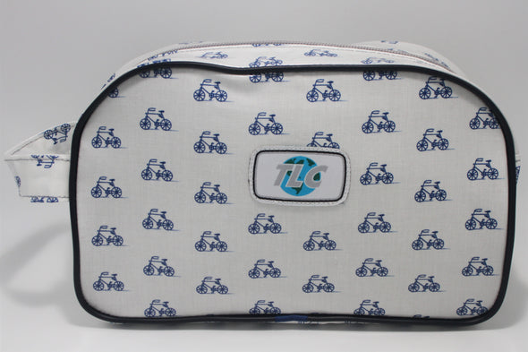 TBD - Bicycle Blues Double Slicker Classic Toiletry Bag