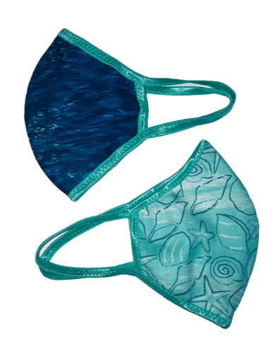 Face Mask (Behind the Ears) - By the Sea Ultra Lightweight FM