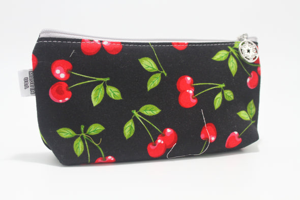 "CIGSL- Cherry Bomb ""Cigar"" Cosmetics/Tampon Slicker Bag"