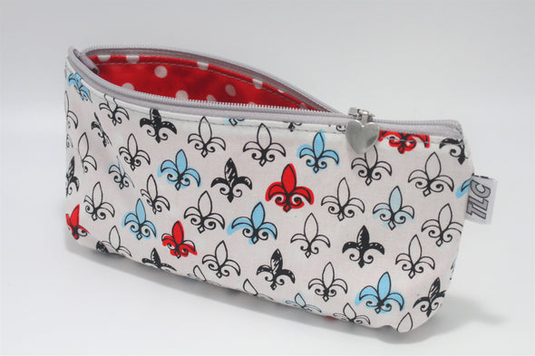 "CIGSL- Fleur de LA ""Cigar"" Cosmetics/Tampon Slicker Bag"