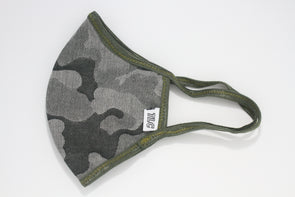 Face Mask (Behind the Ears) - Camouflage Ultra Lightweight FM