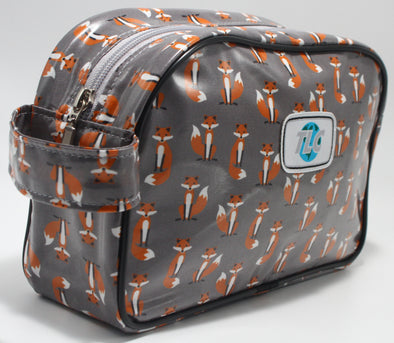 TBD - Foxy Double Slicker Classic Toiletry Bag
