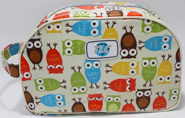TBD - Hoot Double Slicker Classic Toiletry Bag