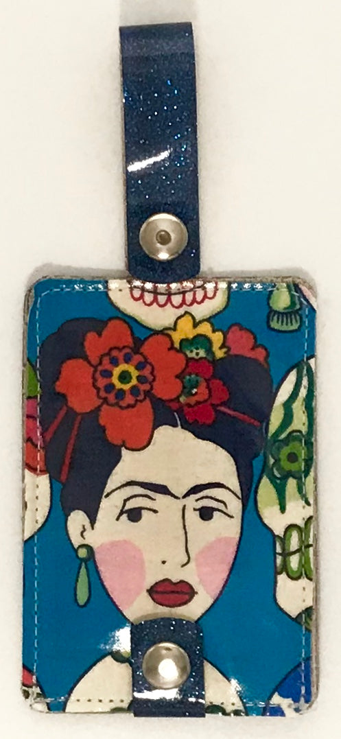Luggage Tag Duo - Frida Collection