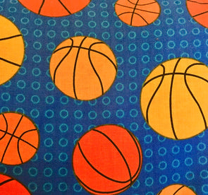 Fabric by the Yard - Basketball