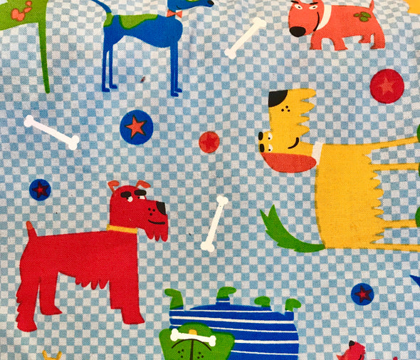 Fabric by the Yard - Doggie Doodles