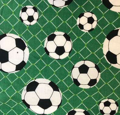 Fabric by the Yard - Soccer