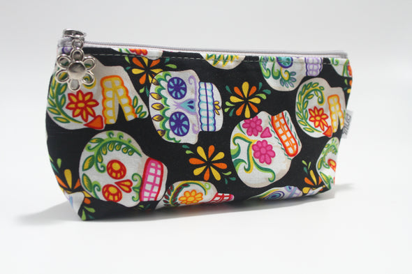 CIGSL- Sugar Skulls Cigar/Cosmetics Bag