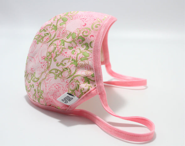 Face Mask (Behind the Ears) - Pink & Ivy Lightweight FM