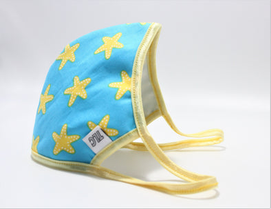 Face Mask (Behind the Ears) - Summer Sea Stars Lightweight FM