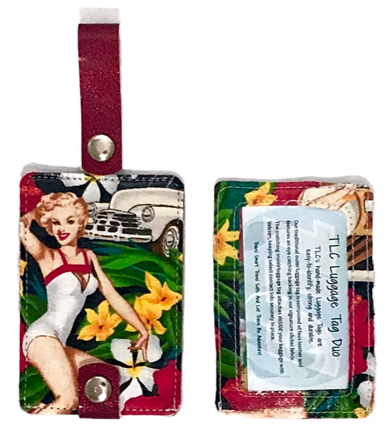 Luggage Tag Duo - Mahalo Girls Collection