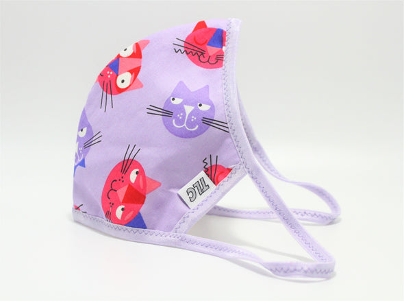 Face Mask (Behind the Ears) - Kitty Cat Lightweight FM