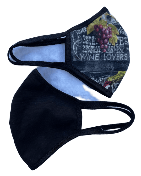 Face Mask (Behind the Ears) - Wine List Ultra Lightweight