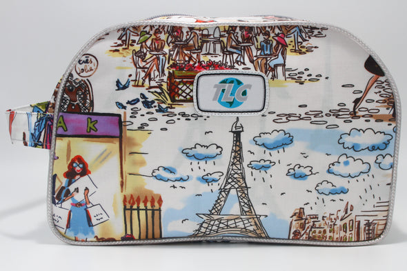 TBD - I Love Paris! Double Slicker Classic Toiletry Bag