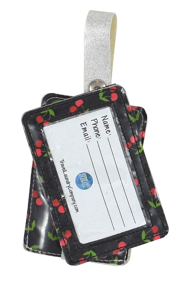 Luggage Tag Duo - Cherry Bomb