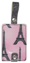 Luggage Tag Duo - La Tour Eiffel