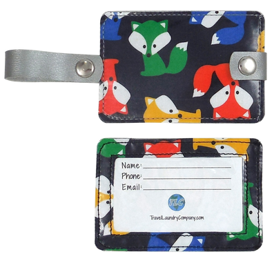 Luggage Tag Duo - Foxy