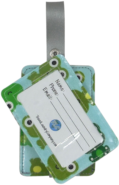 Luggage Tag Duo - Frogger
