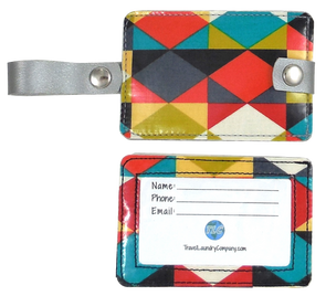 Luggage Tag Duo - Geometric