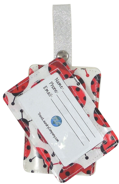 Luggage Tag Duo - Ladybugs