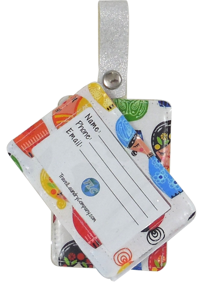 Luggage Tag Duo - Nesting Dolls