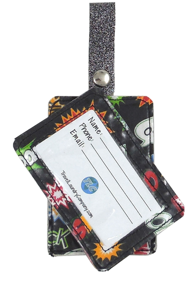 Luggage Tag Duo - Superhero
