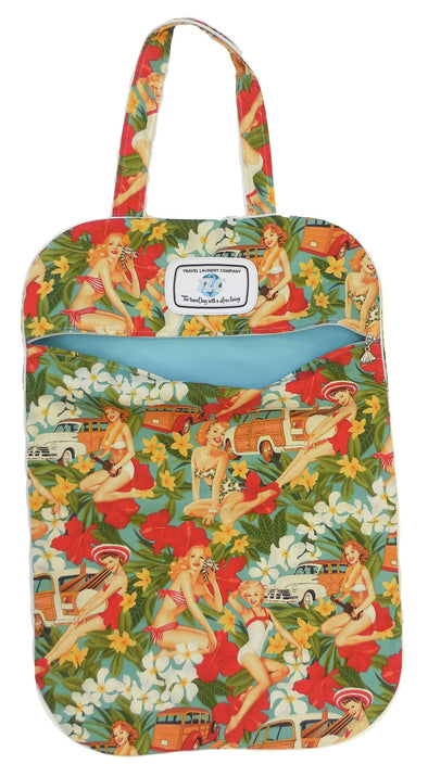 LW Mahalo Girls Print Bag (Sea Green)
