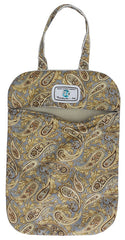 LW - Metallic Paisley Bag