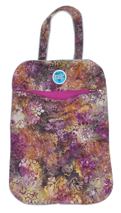 Lightweight Grapevine Batik Laundry Bag