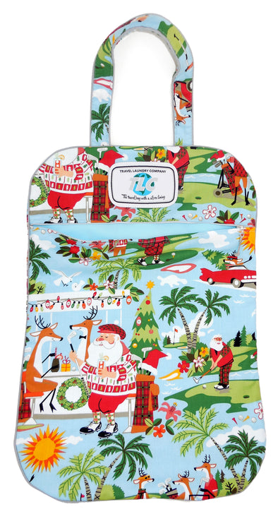 Lightweight Sportin' Santa Laundry Bag Collection
