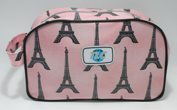 TBD - La Tour Eiffel Double Slicker Classic Toiletry Bag