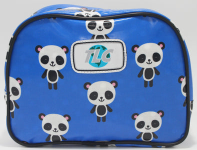 TBD - Panda Blue Double Slicker Classic Toiletry Bag