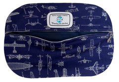 SBLW History of Flight (Navy) Shoe Bag