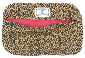 SBLW Classic Leopard Shoe Bag (Hot Pink)