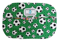 SBSL - Bend it Like Beckham (Green) Soccer Shoe Bag