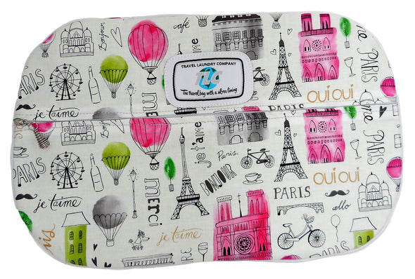 SBSL- Parisian Adventure Slicker Shoe Bag