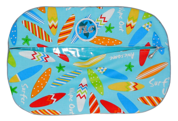 SBSL- Surf's Up Slicker Shoe Bag