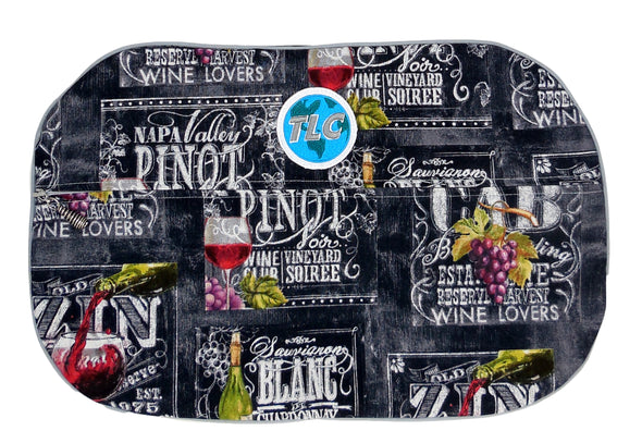 SBSL- Wine List Slicker Shoe Bag