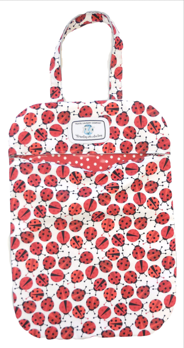 Slicker Lots O' Ladybugs Laundry Bag